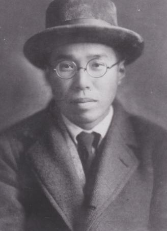 濱田 1920年渡英時の頃